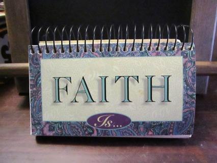 Faith Is... Inspirational Calendar