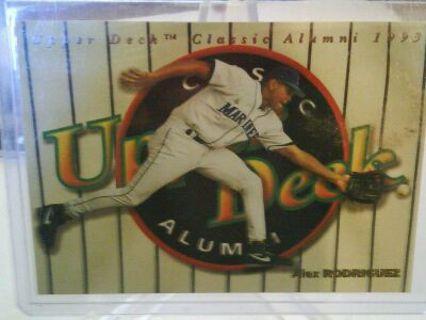 Free 1993 Upper Deck Classic Alumni Alex Rodriguez Rookie