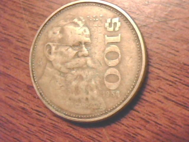 Free 1984 Estados Unidos Mexicanos 100 Coin Coins Listia Com Auctions For Free Stuff