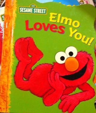 """Sesame Street..""""Elmo Loves You"""" Hard Book"""
