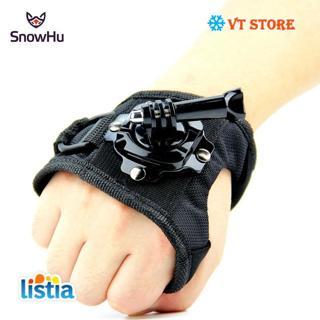 Glove Wrist Band 360 Degree Swivel Rotation Hand Strap Belt Tripod Mount For GoPro Hero 7/6/5/4/3+
