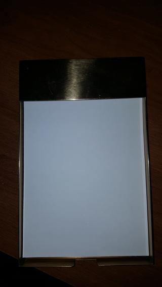 Desktop Notepad Paperweight