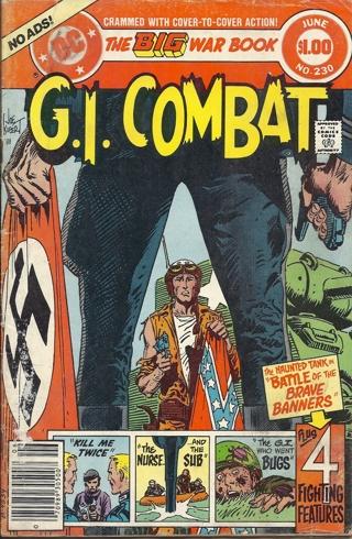(CB-7) 1981 DC Comic Book: G.I. Combat #230