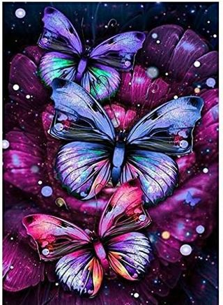 Butterfly Diamond Painting Kit