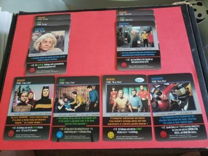10 Star Trek The Card Game Original Series Lot #6