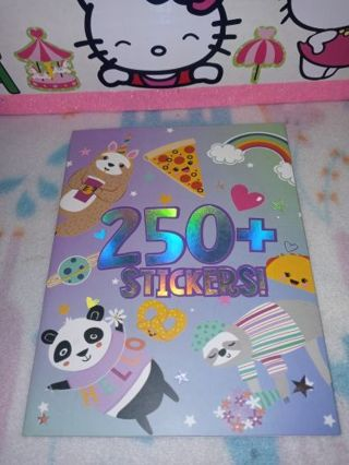 ◆♡◆♡◆BRAND NEW KAWAII STICKER BOOK ◆♡◆♡◆250+ STICKERS/8 DIFFERENT PAGES!