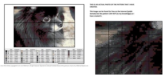 Pomeranian & Shih Tzu Cross Stitch Patterns ***WINNERS CHOICE***