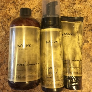 "~It's A ""WEN, WEN"" Situation!! ~ 3 Full Size ""WEN"" Hair Care Products!! *Pump Included!!* $85 Value"