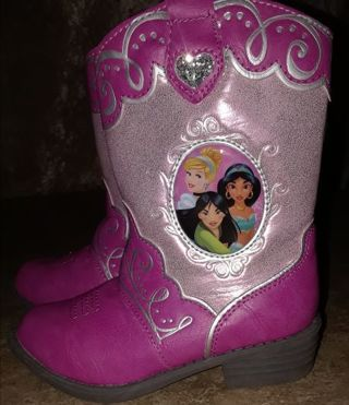 NWT! Disney Princess Toddler Boots size 8
