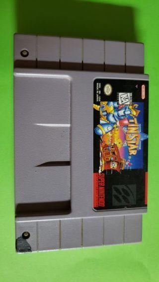 """""""RARE"""" Super Nintendo Game """"TinStar"""""""