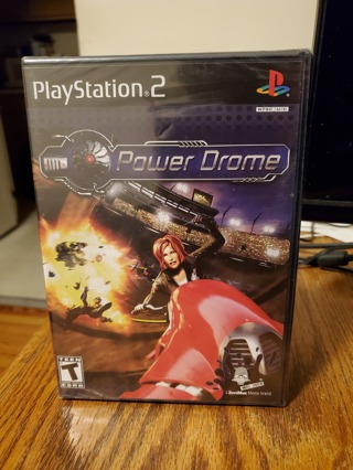 Powerdrome PS2 Brand New Factory Sealed