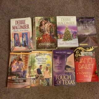 Romance books lot