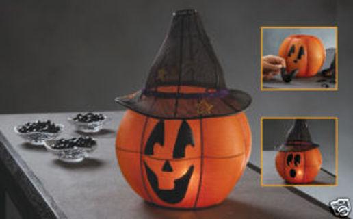 partylite halloween ambience jack o lantern