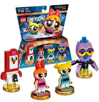 NEW Pack LEGO Powerpuff Girls Legos Team Pack FREE SHIPPING