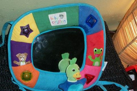 Free Baby Einsteins Light Up Musical Mirror Hanging Crib