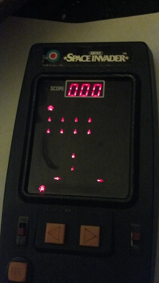 Free: Vintage SPACE INVADERS handheld game from the 70's ...
