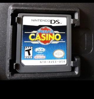 NINTENDO DS VIDEO GAME VEGAS CASINO