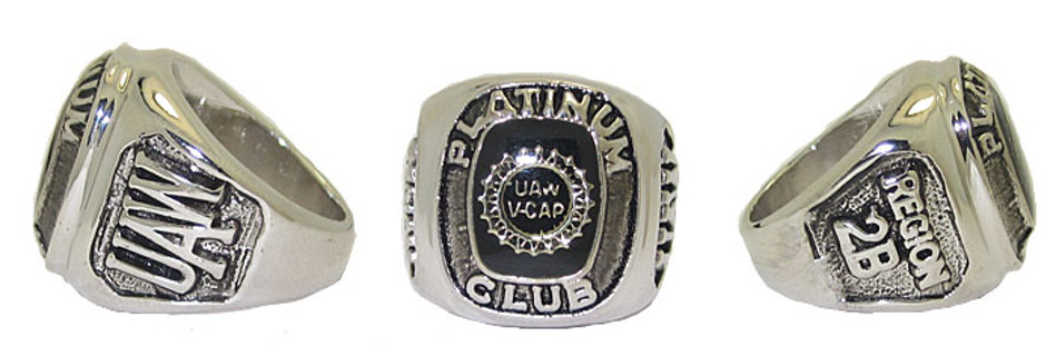 UNITED AUTO WORKERS NEW RING SIZES 4-15