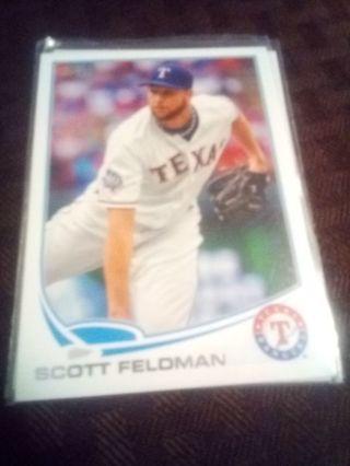 2013 Topps #39 Scott Feldman