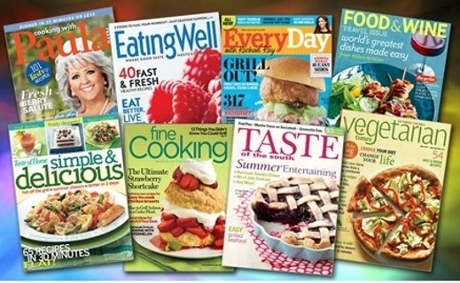 Mystery Cooking Magazines!