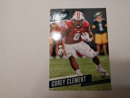 Corey clement rookie rc eagles