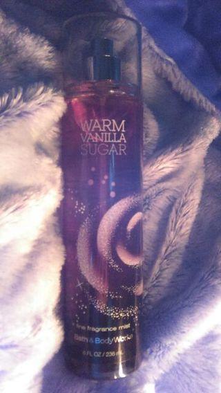 Bath & Body Works Fragrance Mist In ☕ Warm  Vanilla  Sugar !!