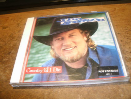 cd-john anderson-country `til i die-1994-country-used-ex-promo