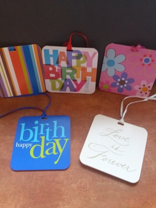 5 Random Gift Cards/ Tags~ small