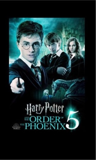 Harry Potter and the Order of the Phoenix digital HD