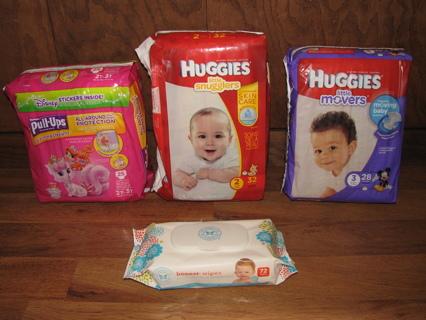 Huggies Diaper Bundle