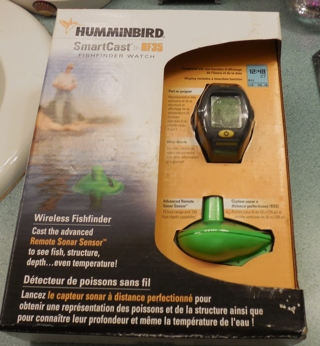 free: humminbird smartcast fish finder watch from bass pro new in, Fish Finder