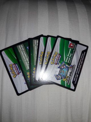 6 Pokemon TCGO Codes!
