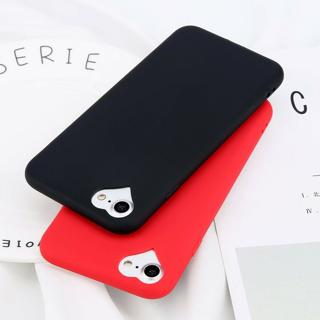 Shockproof Heart Matte Soft TPU Ultra Slim Case Cover For iPhone 8 6 7 Plus 5 SE