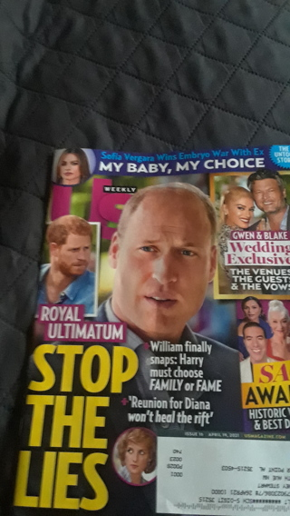 15 New Magazines: (3)Vogue, Allure (8)Us, and (2) Food Network.