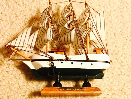 Confection Mediterranean antique marine boat decoration piece