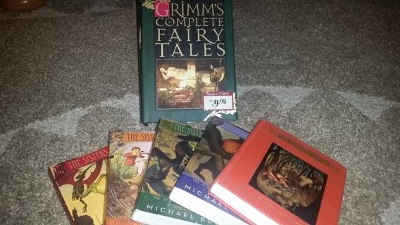 Grimm's Fairy Tales 6 Book Super Lot!