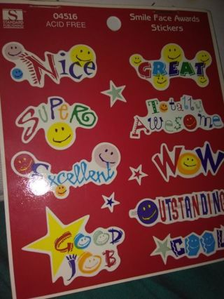 Award stickers