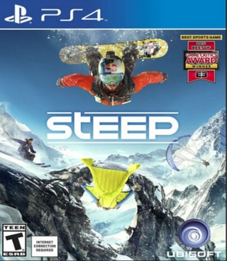 Steep (Snowboarding) PS4 PlayStation 4 FREE SHIPPING