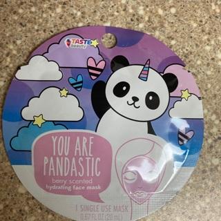 """Kawaii """"Your Padastic""""Berry Face Mask"""