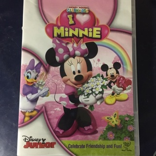 "DVD - Mickey Mouse Club House ""I Love Minnie"""