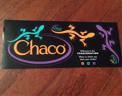 Free: Chaco stickers - Stickers - Listia com Auctions for