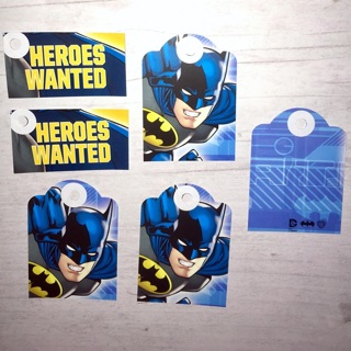 6 New Handmade DC Comics Batman / Heroes Themed Gift Tags.