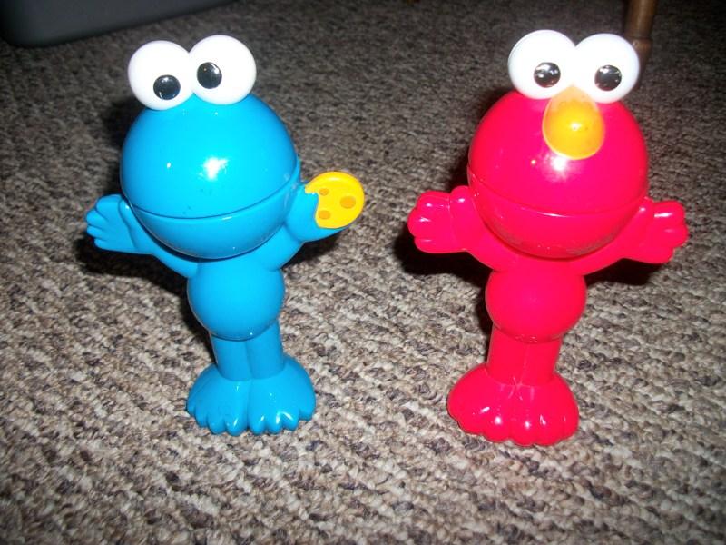 Talking Elmo Toy : Free baby toddler toy sesame street lot flip top talking