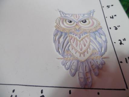 Owl Die Cut
