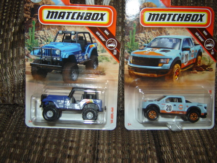 NIP'S! 2 Matchbox MBX Off-Road