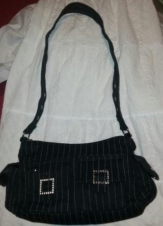 "Ladies Belt Style Handbag  with Straps is 16""L x 10""W."