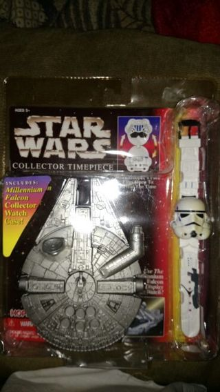 Never Been Opened Star Wars Collector Timepiece!