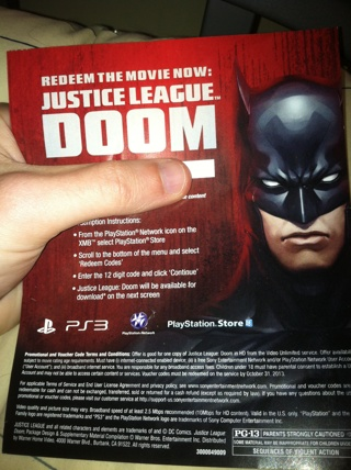 Free: Ps3 Justice League Doom Download - Other DVDs & Movies
