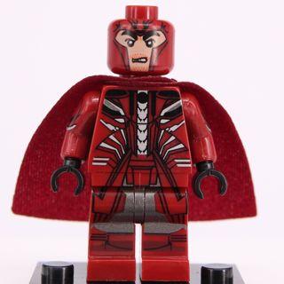 New Magneto Minifigure Building Toy Custom Lego