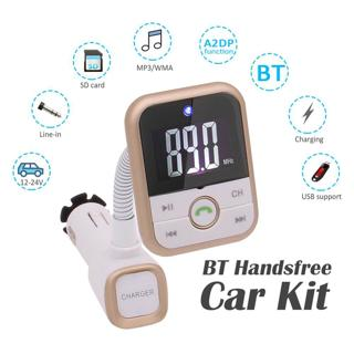 Bluetooth FM Transmitter Wireless FM Modulator Radio Adapter Handsfree Car MP3 Player
